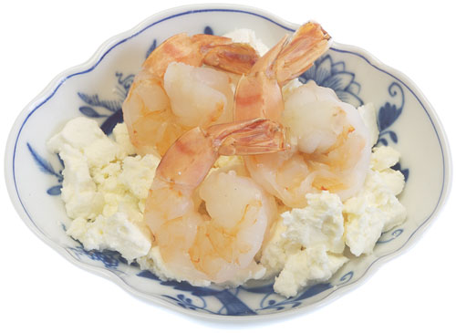 Shrimp with Feta Cheese